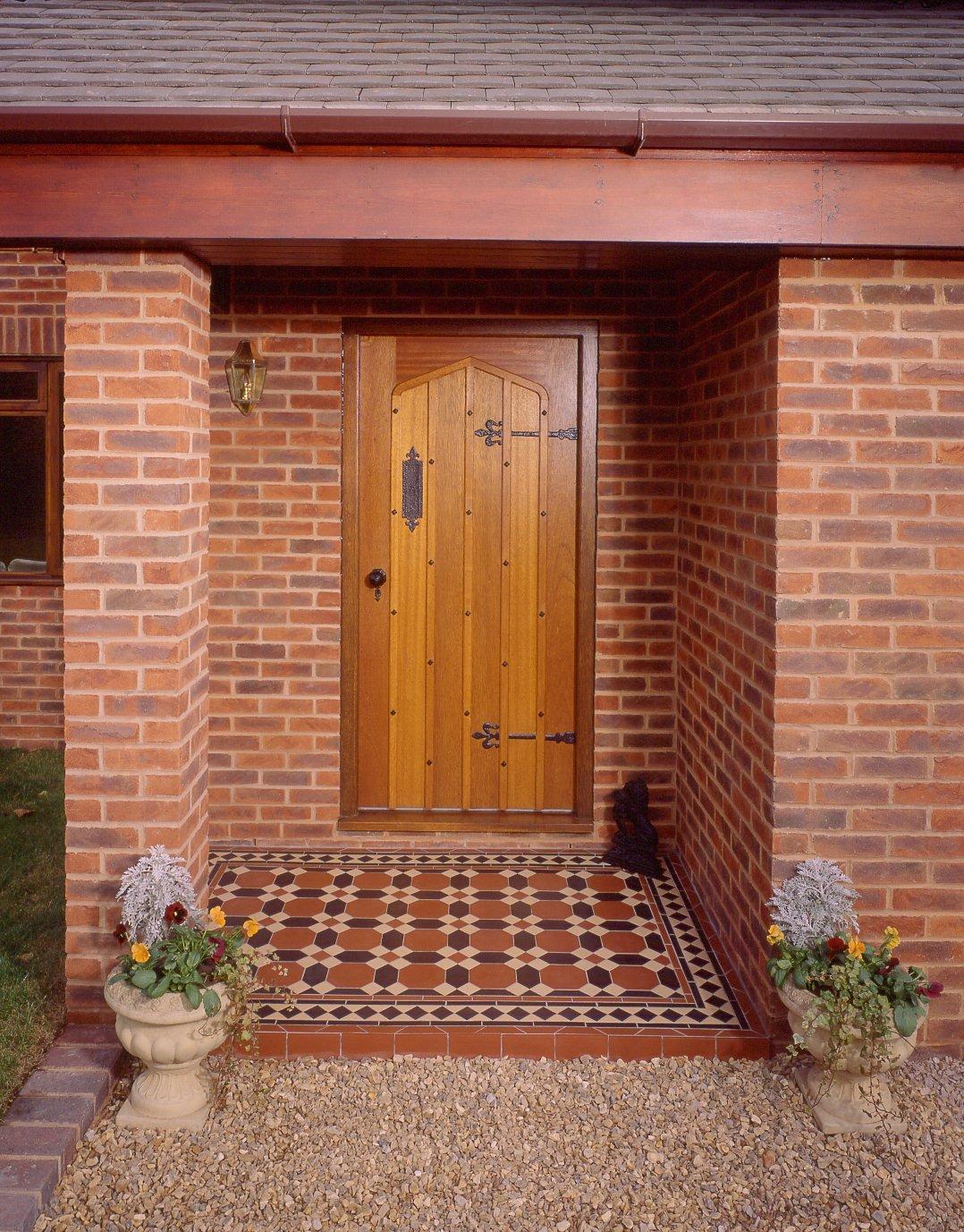 Victoriangeometric Floor Tiles