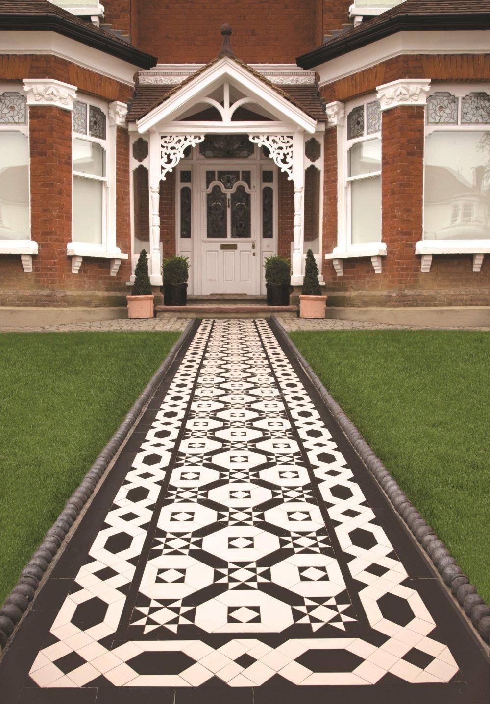 Victorian tiles victorian geometric floor tiles for Victorian floors