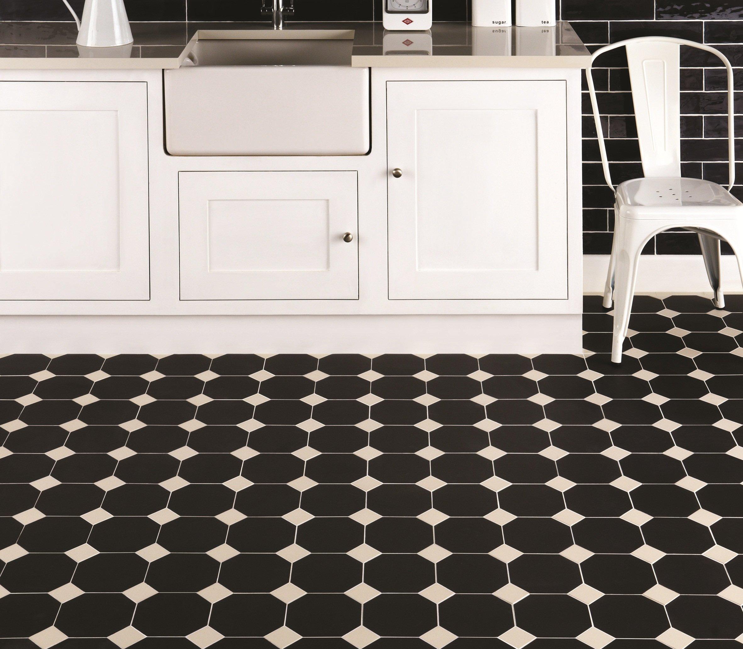 Victorian Kitchen Floor: Victorian/Geometric Floor Tiles